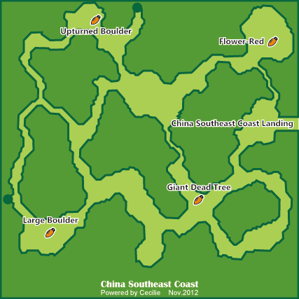 China Southeast Coast